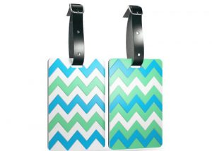 Anti-lost flexible bag tags luggage tags
