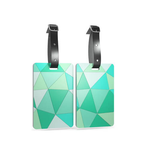 Personalized PVC ID luggage tags travel accessories