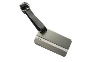Stainless steel card holder tags