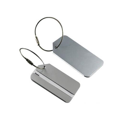 aluminum luggage tag and bag tags