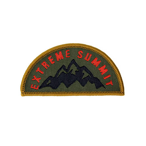 Extreme Summit patches apparel accessories