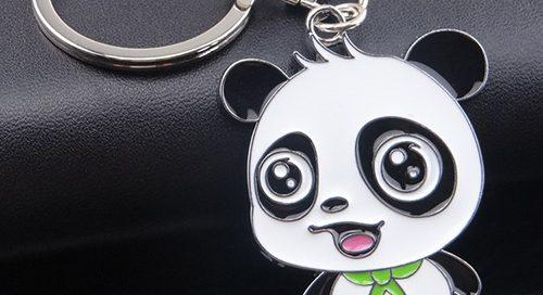Kung fu panda 3 panda keyring