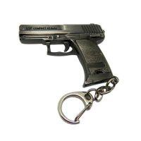 Cross fire game gun model keyring