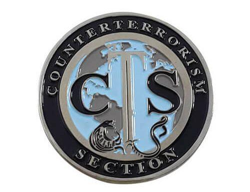 Custom navy challenge coins