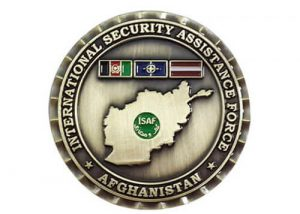 International security assistance force coin