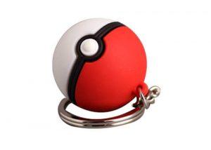 Poke ball key ring soft toy