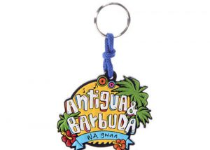 Personalized rubber keychains