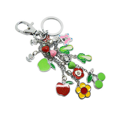 Personalized DIY animal keychain