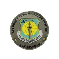 US air force civil engineering coin