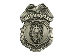 Old police badge