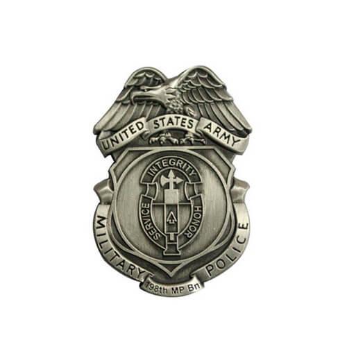 Old police badge