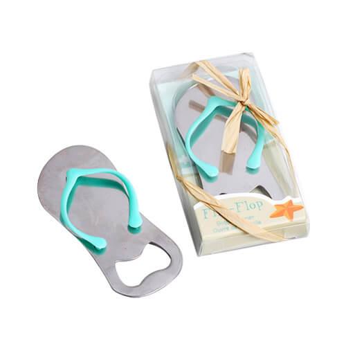 Summer beach slipper bottle opener