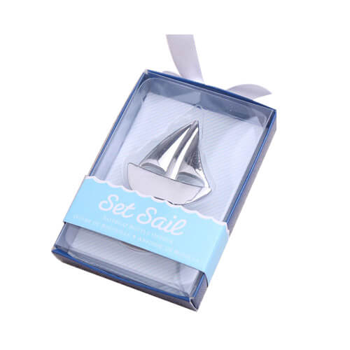 Novelty sailing boat beer bottle opener