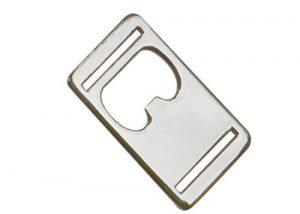 Bottle opener belt buckle