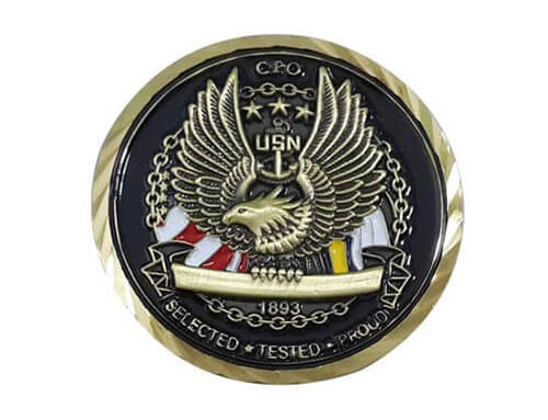 Custom military coins