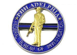 FBI national academy coin