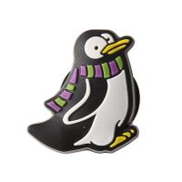 Cute penguin rubber fridge magnet