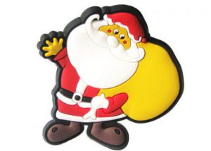 Christmas gifts santa fridge magnet