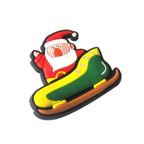 Christmas gifts santa fridge magnet