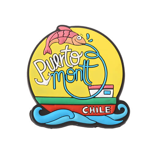 Curaçao beach souvenir fridge magnets