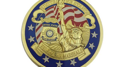 Federal air marshals coin