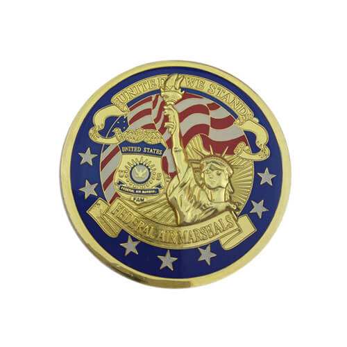 Federal air marshals coin