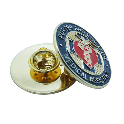 Certified medical assistant lapel pins