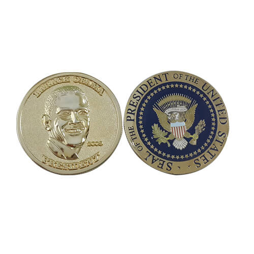 President Barack Obama commemorative coin