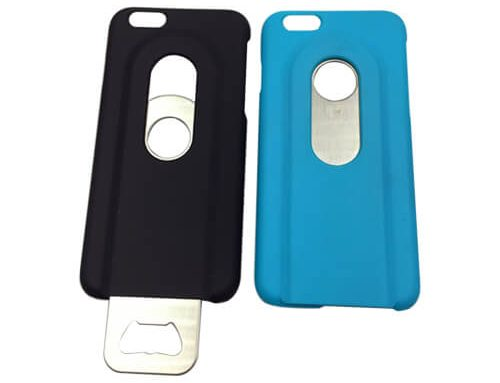 Bottle opener phone case