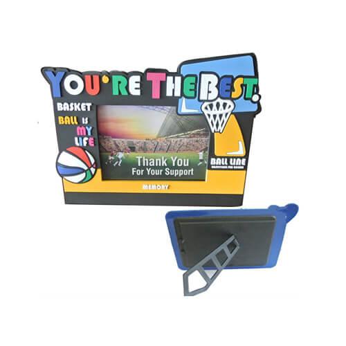 Basketball pvc photo frame supplier