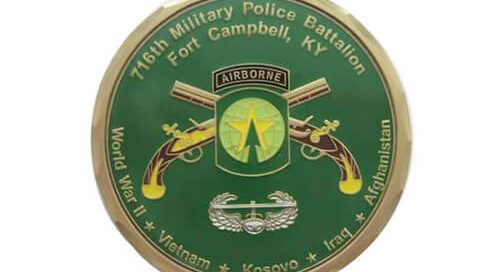 716th military police battalion coin