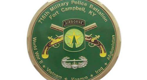 716th military police battalion coin