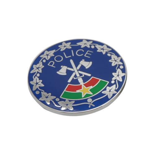 Federal police liberty badge
