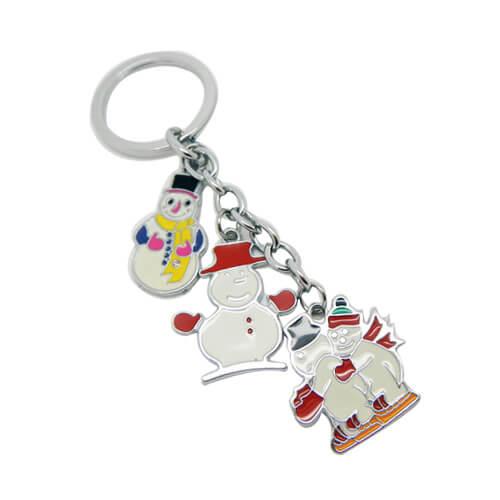 Christmas santa keychain