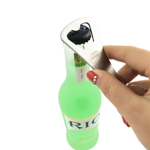 Iron die struck bottle opener