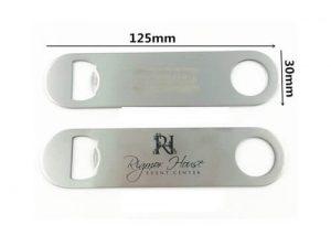 Cast iron bottle opener