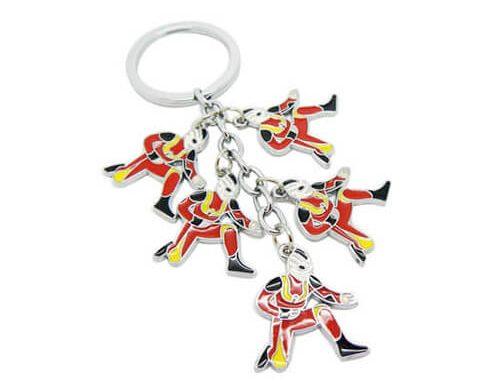 Cute Ultraman keychains