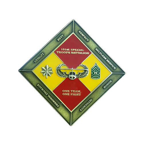 101st special troops battalion coin