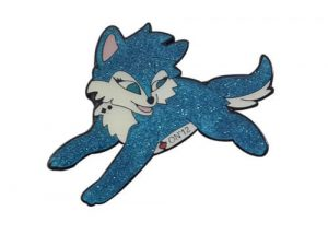 Cute wildcat pin