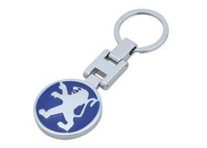 Wholesale car keychain car key decoration