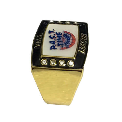 Past time baseball rings