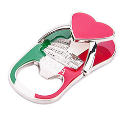 bottle opener Italy travel souvenir