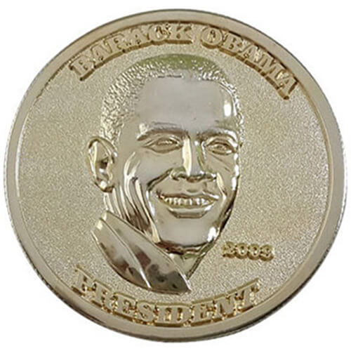 presidential obama coins