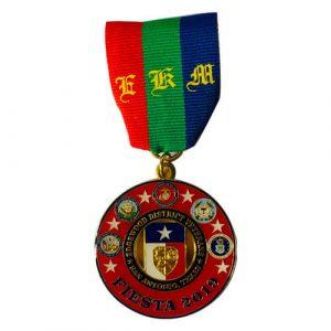 Edgewood District Veterans fiesta Medals