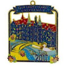 University Fiesta Medals custom