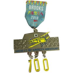 brooks fiesta medal