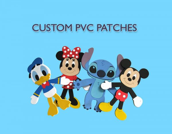 custom PVC patches