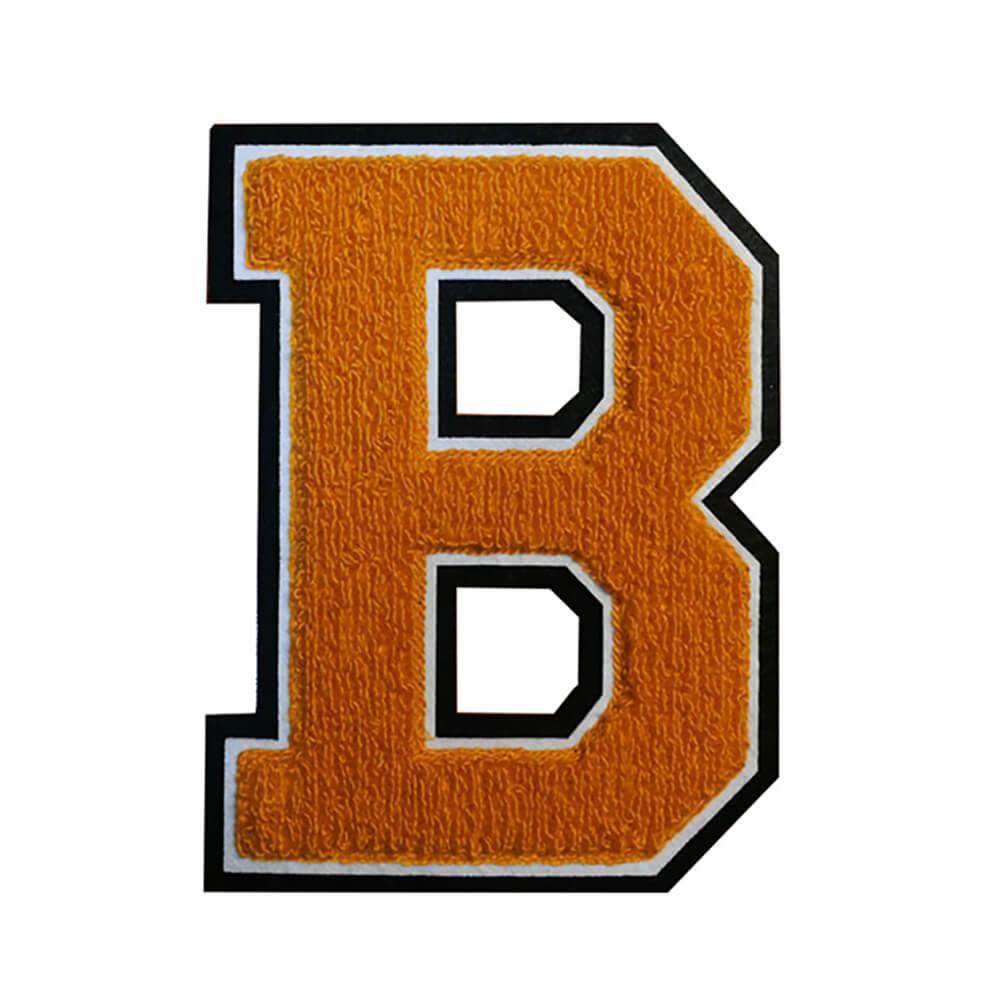 Chenille letter B