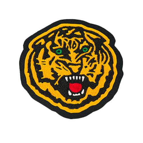 Varsity chenille-embroidery patches