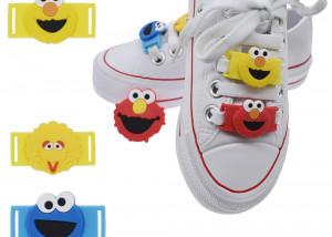 cartoon shoe tag